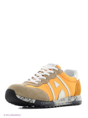 Кроссовки Covani. Цвет: желтый, бежевый