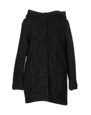Пальто X-CAPE. Цвет: свинцово-серый