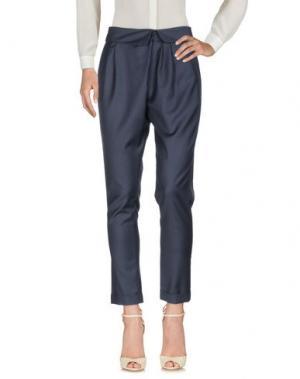 Повседневные брюки MIGUEL PALACIO for HOSS INTROPIA. Цвет: темно-синий