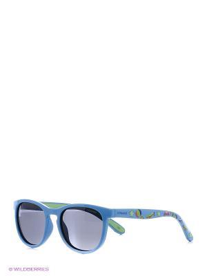 Солнцезащитные очки Polaroid. Цвет: голубой