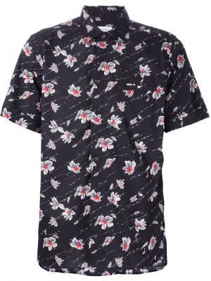 Гавайская рубашка Ovadia & Sons. Цвет: чёрный