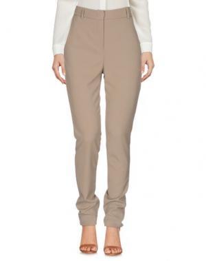 Повседневные брюки HANITA. Цвет: хаки