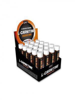 Жиросжигатель L-Carnitine 3000 20 шт*25 мл QNT. Цвет: черный, оранжевый