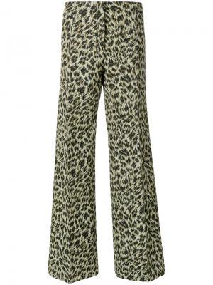 Широкие брюки Philosophy Di Lorenzo Serafini. Цвет: многоцветный