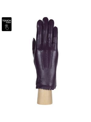 Перчатки Fabretti. Цвет: фиолетовый