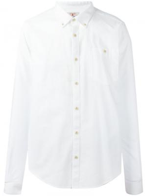 Оксфордская рубашка Charles Barbour. Цвет: белый