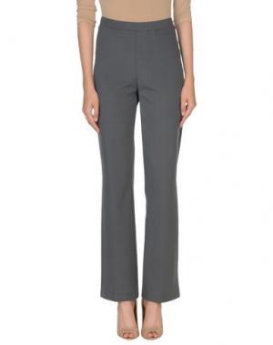 Повседневные брюки 1-ONE. Цвет: свинцово-серый