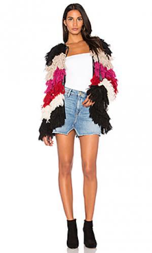 Куртка ivonne Carolina K. Цвет: розовый