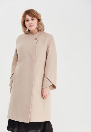 Пальто Grand Madam. Цвет: бежевый