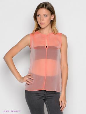 Блузка DOCTOR E. Цвет: розовый