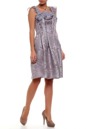 Платье Татьяна Сулимина. Цвет: серый