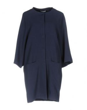 Пальто HOPE COLLECTION. Цвет: темно-синий