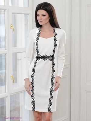 Платье Vaide. Цвет: молочный