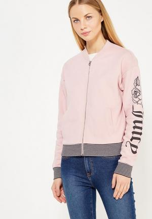 Олимпийка Juicy by Couture. Цвет: розовый