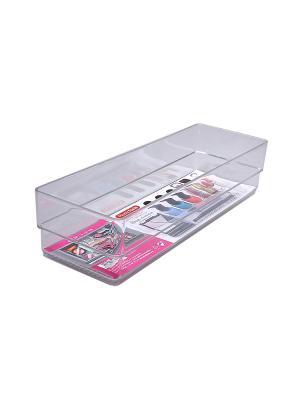 Органайзер для хранения косметики Migura. Цвет: прозрачный