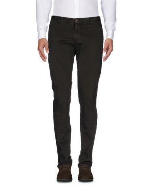 Повседневные брюки SARTORIA LATORRE. Цвет: темно-зеленый
