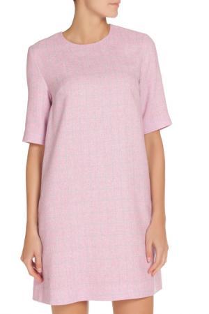 Платье-мини NATALIA PICARIELLO. Цвет: розовый