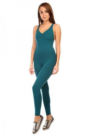 Комбинезон для фитнеса женский  New Zealand Anback Overall Green CajuBrasil. Цвет: зеленый