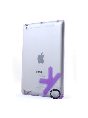 Чехол-панель для iPad2 с кольцом-держателем Belsis. Цвет: фиолетовый