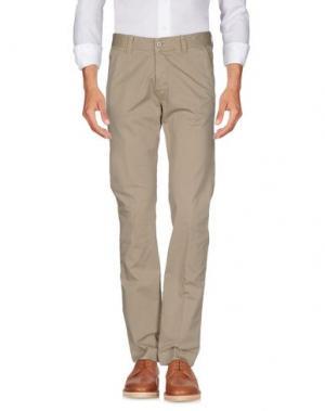 Повседневные брюки NEW ENGLAND. Цвет: песочный