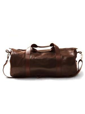 Дорожная сумка Long River. Цвет: коричневый