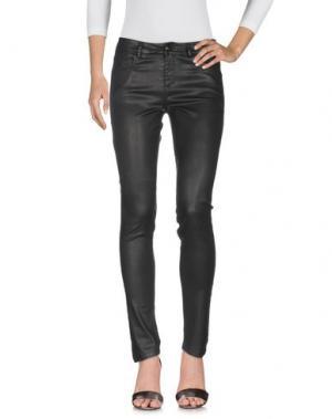 Джинсовые брюки FAIRLY. Цвет: черный