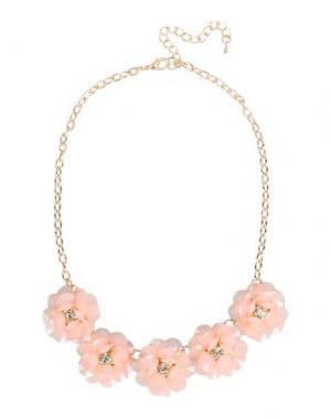 Ожерелье DETTAGLI. Цвет: светло-розовый