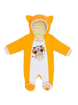 Комбинезон batik. Цвет: оранжевый
