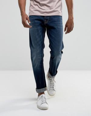 Nudie Jeans Свободные суженные книзу джинсы цвета индиго Co Fearless F. Цвет: темно-синий