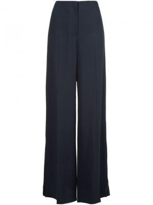 Широкие брюки с отделкой молнией Jason Wu. Цвет: чёрный
