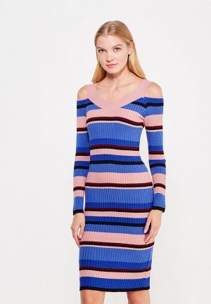 Платье LOST INK. Цвет: разноцветный