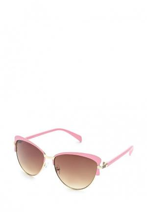 Очки солнцезащитные Noryalli. Цвет: розовый