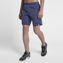 Мужские теннисные шорты Court Flex Ace 23 см Nike. Цвет: синий