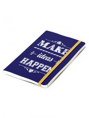 Записная книжка Inspiration синяя Balvi. Цвет: темно-синий