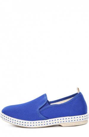 Эспадрильи Rivieras Leisure Shoes. Цвет: голубой