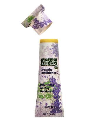 Органический дезодорант Лаванда, 62 гр Organic Essence. Цвет: кремовый