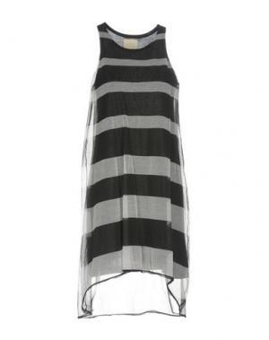 Короткое платье BAND OF OUTSIDERS. Цвет: черный