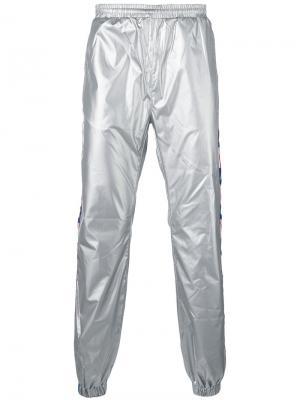 LA metallic trousers Kappa. Цвет: металлический