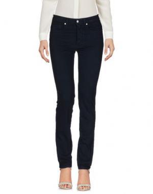Повседневные брюки BLUE LUXURY. Цвет: темно-синий