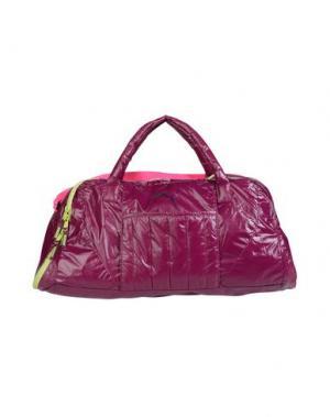 Дорожная сумка PUMA. Цвет: пурпурный