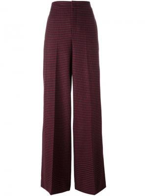 Расклешенные брюки Etro. Цвет: красный