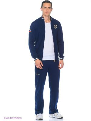 Спортивный костюм Stayer. Цвет: темно-синий