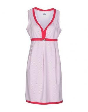 Короткое платье COOPERATIVA PESCATORI POSILLIPO. Цвет: пурпурный