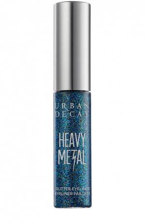 Подводка для глаз Heavy Metal Glitter Spandex Urban Decay. Цвет: бесцветный