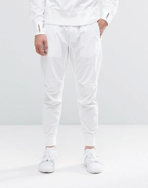Maharishi Спортивные штаны. Цвет: белый