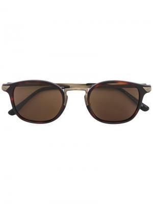 Солнцезащитные очки 2808HS Matsuda. Цвет: коричневый