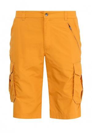 Шорты спортивные Icepeak. Цвет: желтый