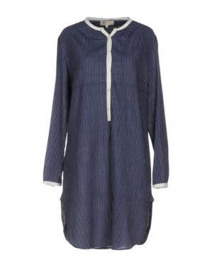 Короткое платье LOCAL APPAREL. Цвет: синий