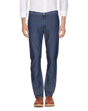 Повседневные брюки RA-RE. Цвет: темно-синий