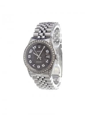 Datejust analog watch Rolex. Цвет: none